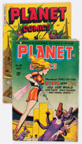 Golden Age (1938-1955):Science Fiction, Planet Comics #38 and 69 Group (Fiction House, 1945-53).... (Total:2 Comic Books)
