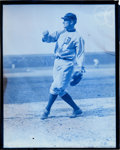 Baseball Collectibles:Photos, Early 1920's Ty Cobb Glass Plate Negative....