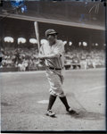 Baseball Collectibles:Photos, Late 1920's Babe Ruth Glass Plate Negative....