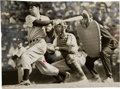 Baseball Collectibles:Photos, 1941 Joe DiMaggio Original News Photograph, PSA/DNA Type 1...