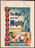 "Movie Posters:Adventure, The High and the Mighty & Other Lot (Warner Brothers, 1954).Window Card (14"" X 22"") & Trimmed Window Cards (2) (14"" X19.75... (Total: 3 Items)"