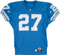 Football Collectibles:Uniforms, 1997-98 Mark Carrier Game Worn Detroit Lions Jersey....