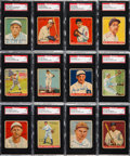 Autographs:Sports Cards, Signed 1933 Goudey Baseball SGC & PSA/DNA Authentic Collection(20). ...