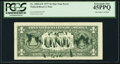 Error Notes:Ink Smears, Green Ink Smears on Back Error Fr. 1909-G* $1 1977 Federal ReserveStar Note. PCGS Extremely Fine 45PPQ.. ...