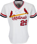 Baseball Collectibles:Uniforms, 1985 Vince Coleman Game Worn St. Louis Cardinals Jersey. ...