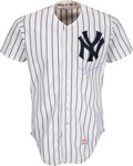 Baseball Collectibles:Uniforms, 1982 Dave Winfield Game Worn New York Yankees Jersey. ...