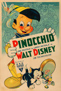 "Movie Posters:Animation, Pinocchio (RKO, 1940). Argentinean Poster (29"" X 43.5"").. ..."