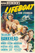 "Movie Posters:Hitchcock, Lifeboat (20th Century Fox, 1944). One Sheet (27"" X 40.75"").. ..."