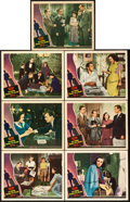 """Movie Posters:Hitchcock, Shadow of a Doubt (Universal, 1943). Autographed Lobby Cards (7) (11"""" X 14"""").. ... (Total: 7 Items)"""