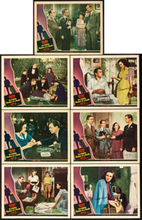 "Shadow of a Doubt (Universal, 1943). Autographed Lobby Cards (7) (11"" X 14""). ... (Total: 7 Items)"