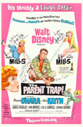 "Movie Posters:Comedy, The Parent Trap (Buena Vista, 1961). Autographed One Sheet (27"" X41"").. ..."