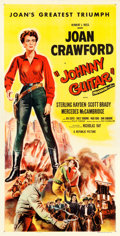 "Movie Posters:Western, Johnny Guitar (Republic, 1954). Three Sheet (41.25"" X 80.5"").. ..."