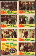 """Movie Posters:Western, Tall in the Saddle (RKO, 1944). Lobby Card Set of 8 (11"""" X 14"""").. ... (Total: 8 Items)"""
