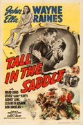 "Movie Posters:Western, Tall in the Saddle (RKO, 1944). One Sheet (27"" X 41"").. ..."