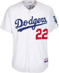 Baseball Collectibles:Uniforms, 2009 Clayton Kershaw Game Worn Los Angeles Dodgers Jersey. ...