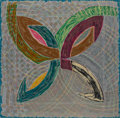 Prints & Multiples, Frank Stella (b. 1936). Polar Coordinates V, 1980. Offset lithograph, screenprint and letterpress in colors on Arches co...