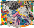 Fine Art - Work on Paper:Print, Frank Stella (b. 1936). Extracts, from Moby Dick DeckledEdges series, 1993. Lithograph, etching, aquatint, relief, and...