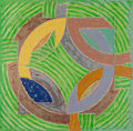 Fine Art - Work on Paper:Print, Frank Stella (b. 1936). Polar Coordinates IV, 1980. Offsetlithograph and screenprint in colors on Arches cover paper. 3...