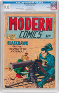 Golden Age (1938-1955):War, Modern Comics #71 Rockford Pedigree (Quality, 1948) CGC VF/NM 9.0Off-white pages....