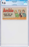 Golden Age (1938-1955):Cartoon Character, Oxydol-Dreft #5 Archie (Toby Publishing, 1950) CGC NM+ 9.6 Off-white to white pages....