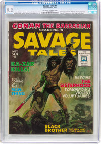 Savage Tales #1 (Marvel, 1971) CGC NM- 9.2 Off-white to white pages