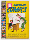 Golden Age (1938-1955):Miscellaneous, Popular Comics #9 (Dell, 1936) Condition: FN-....
