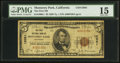 National Bank Notes:California, Monterey Park, CA - $5 1929 Ty. 1 The First NB Ch. # 12061. ...