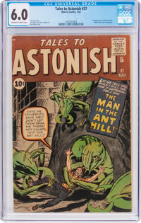 Tales to Astonish #27 (Marvel, 1962) CGC FN 6.0 Off-white to white pages
