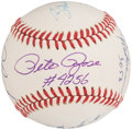 Autographs:Baseballs, 3000 Hit Club Members Multi-Signed Baseball (6 Signatures). . ...