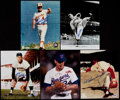 Autographs:Photos, Baseball Greats Signed Photograph Collection (9)....