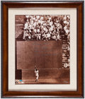 "Autographs:Photos, Willie Mays ""The Catch"" Signed Oversized Photograph...."