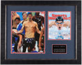 Autographs:Photos, Michael Phelps Signed Oversized Photograph Display.. ...