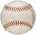 Autographs:Baseballs, 1964 National League All-Star Team Signed Baseball....