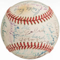 , Brooklyn Dodgers Greats Multi-Signed Baseball.. ...