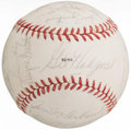 Autographs:Baseballs, 1970 New York Mets Team Signed Baseball (22 Signatures).. ...