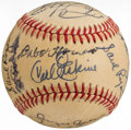 Autographs:Baseballs, Brooklyn Dodgers Greats Multi-Signed Baseball.. ...