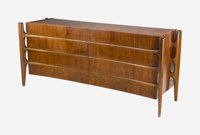 William Hinn (Swedish, 20th Century) Long Chest of Drawers, circa 1955, The Swedish Furniture Guild for