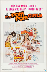 "The Pom Pom Girls & Other Lot (Crown International, 1976). One Sheets (2) (27"" X 41""). Bad Girl. ... (..."