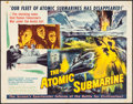 "Movie Posters:Science Fiction, The Atomic Submarine (Allied Artists, 1959). Half Sheet (22"" X28""). Science Fiction.. ..."