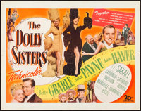 "The Dolly Sisters (20th Century Fox, 1945). Half Sheet (22"" X 28""). Musical"