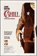 """Movie Posters:Western, Cahill: United States Marshal (Warner Brothers, 1973). One Sheet (27"""" X 41""""). Western.. ..."""