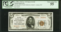 National Bank Notes:West Virginia, South Charleston, WV - $5 1929 Ty. 2 The First NB of SouthCharleston Ch. # 11340. ...