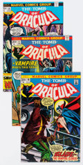 Bronze Age (1970-1979):Horror, Tomb of Dracula Group of 25 (Marvel, 1973-76) Condition: AverageFN/VF.... (Total: 25 Comic Books)
