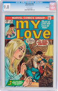 Bronze Age (1970-1979):Romance, My Love #30 Savannah Pedigree (Marvel, 1974) CGC NM/MT 9.8Off-white pages....