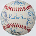 Autographs:Baseballs, 1993 Florida Marlins Team Signed Baseball (29 Signatures)....