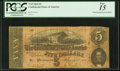 Confederate Notes:1864 Issues, Poem on Back T69 $5 1864.. ...
