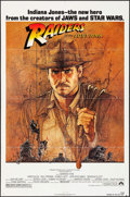 "Movie Posters:Adventure, Raiders of the Lost Ark (Paramount, 1981). One Sheet (27"" X 41"")& Mini Poster (16.25"" X 23.25""). Adventure.. ... (Total: 2Items)"