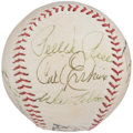 Autographs:Baseballs, Baseball Greats Multi-Signed Baseball With Roger Maris.. ...