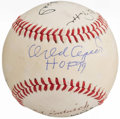 Autographs:Baseballs, Baseball Greats Multi-Signed Baseball (7 Signatures).. ...