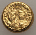 Ancients:Byzantine, Ancients: Heraclius (AD 610-641) & Heraclius Constantine (AD 613-641). AV solidus (4.43 gm). About VF....
